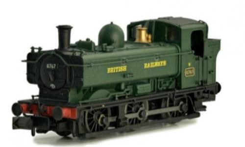 2S-007-023 Dapol Pannier Late Cab 9741 BR Green