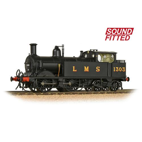 31-741SF Bachmann MR 1532 (1P) Tank 1303 LMS Black (Original)