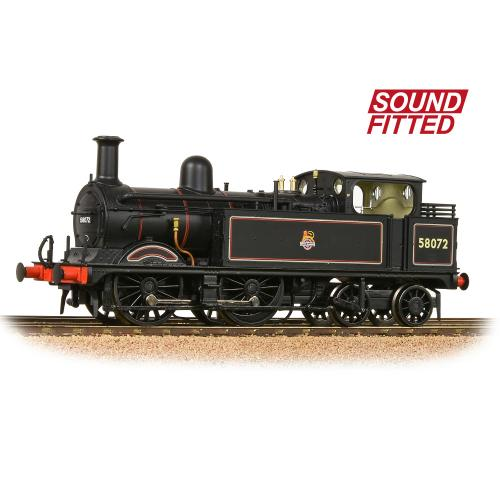 31-742SF Bachmann MR 1532 (1P) Tank 58072 BR Lined Black Early
