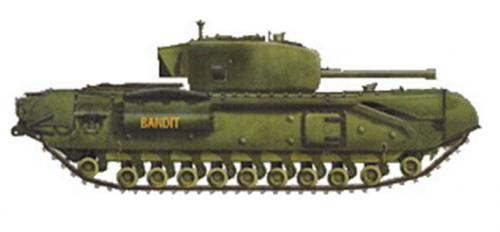 35154 AFV Club Churchill Mk IV (1:35)