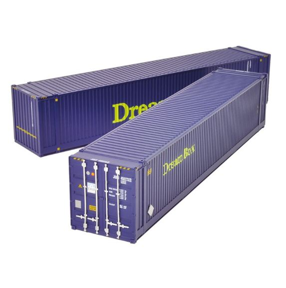 36-102 Bachmann 45ft Containers (x2) - Dream Box