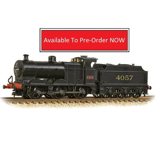 MR 3835 4F with Fowler Tender 4057 LMS Black (MR numerals)