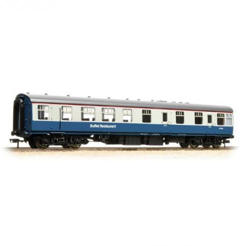 39-100C Bachmann BR Mk1 RU Restaurant Car - Blue/Grey
