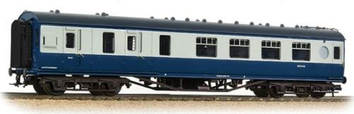 39-462 Bachmann LMS 57ft Porthole Brake 2nd Corridor Blue/Grey