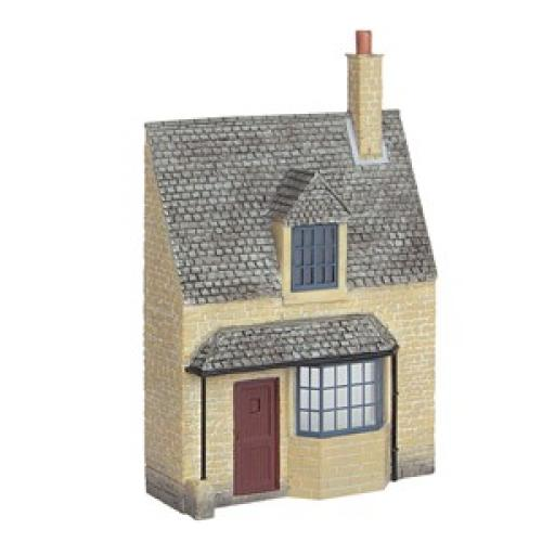 44-295 Bachmann Low Relief Honey Stone Cottage
