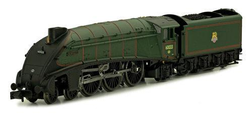 A4 60033 Seagull Brunswick Green Early Crest Double Chimney