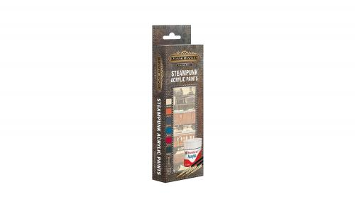 Hornby AB9062 SteamPunk Paint Pack - Metallic Acrylic