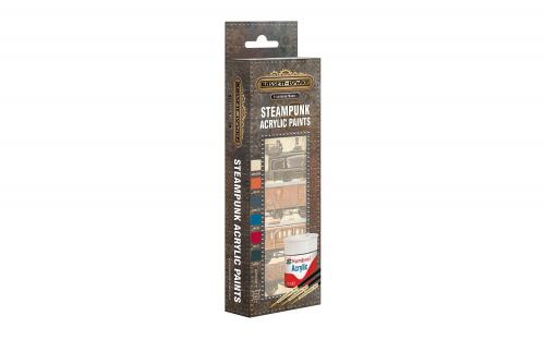Hornby AB9064 SteamPunk Paint Pack - Matt Acrylic Pack A