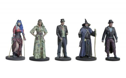 Hornby BL8010 SteamPunk Passengers Standing Pack 1 - 5 figures