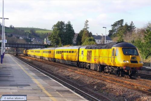 GM2210303 Class 43 HST 43014/062 Network Rail New Measurem't ain