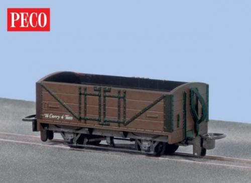 GR-201B,C,U Peco Open Wagon - SR livery unlettered