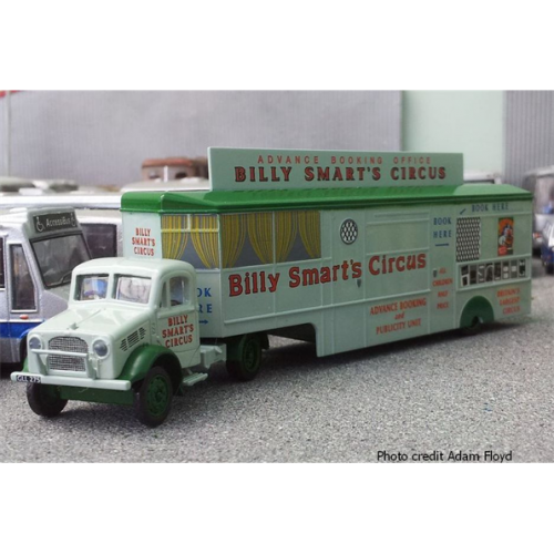 Bedford OX Truck Booking Trailer Billy Smart's Circus