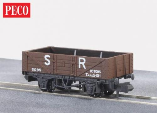 NR-40S Peco SR 5 Plank Mineral Wagon