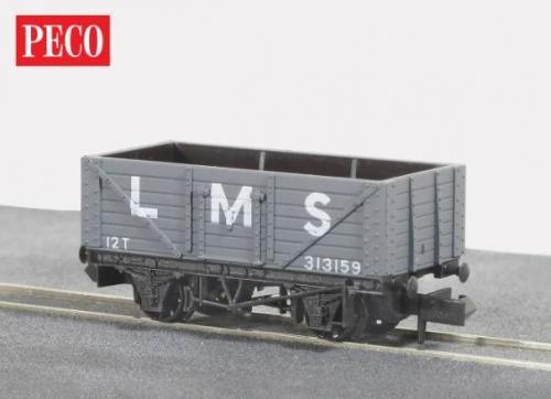 NR-41M Peco LMS 7 Plank Mineral Wagon