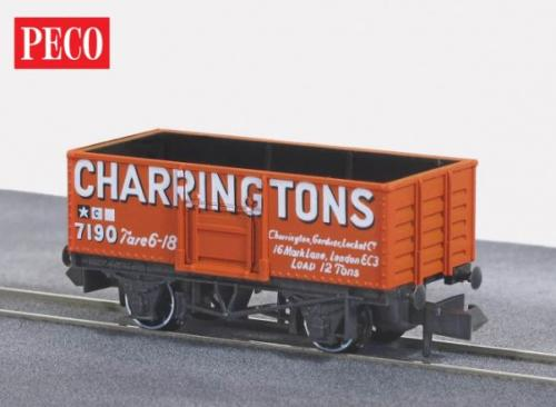 NR-P100 Peco Butterley Steel Type Wagon-Charringtons