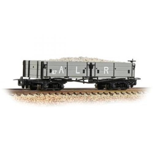 Open Bogie Wagon Ashover L. R. Grey Includes Wagon Load