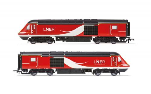 R3802 Hornby LNER, Class 43 HST, Power Cars 43315 and 43309