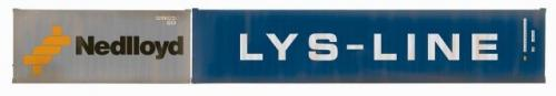 R60044 Hornby Nedlloyd&LYS Cont'r Pk 1x20' & 1x40' Containers