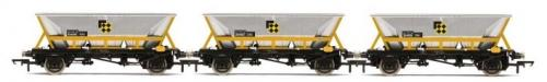R60065 Hornby HAA Hopper Wagons, Three Pack, BR Coal Sector