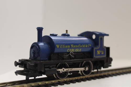 Pre-owned Hornby 0-4-0 Willian Mansfield & Co