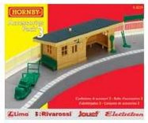 2 x R462 Hornby 00 Model Train Rail Layout Large Radius Curved Platform Section