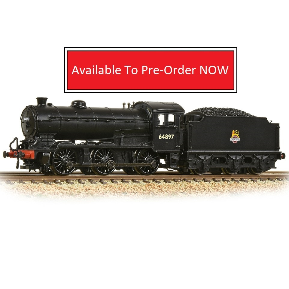 372-401A-Graham Farish-LNER J39 Group Standard 4200 Gallon Tender 64897 BR Black Early