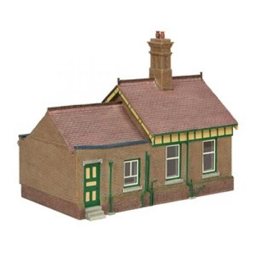 44-091G Scenecraft Bluebell Office and Store Room Green & Cr