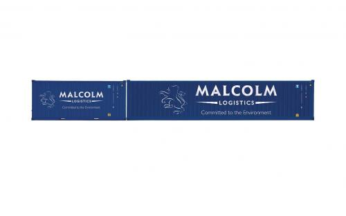 Malcolm Logistics, Container Pack, 1 x 40' and 1 x 20' Containers - Era 11
